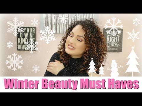MY WINTER BEAUTY ESSENTIALS   The Glam Belle