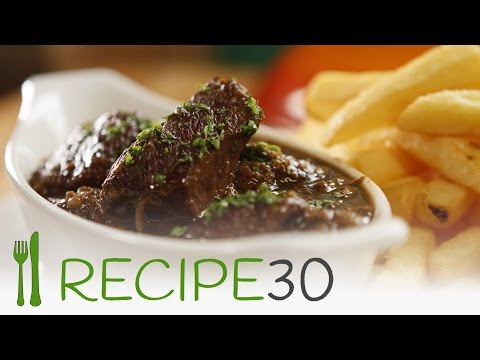 Beer and Beef lovers, for you: Beef Carbonade Flamande (slow cooked ) - By RECIPE30.com