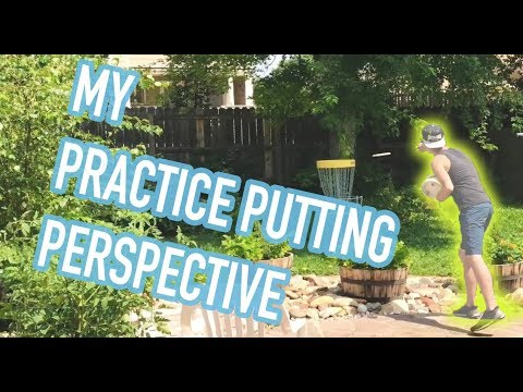 My putting practice perspective.
