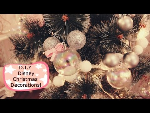 Super Easy D.I.Y Disney Mickey Mouse Christmas Decorations!