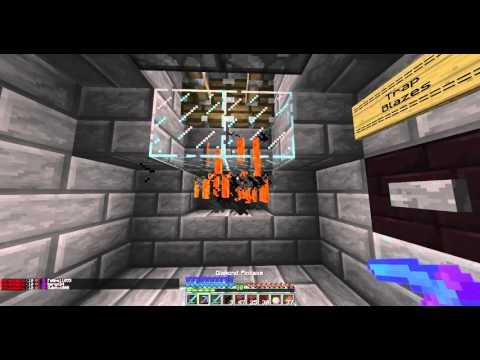 Minecraft Auto Blaze Farm - Factions