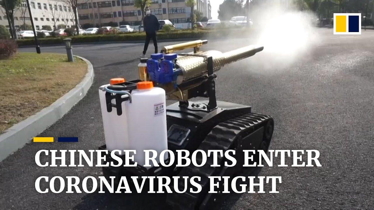 Coronavirus: China steps up use of robots to fight Covid-19 epidemic