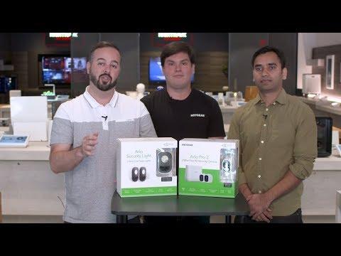 LIVE Recap: Introducing Arlo Smart & Arlo Security Light at the NETGEAR Store