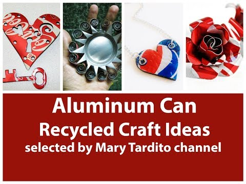 Creative Soda Can Crafts Ideas - Recycled Crafts Ideas