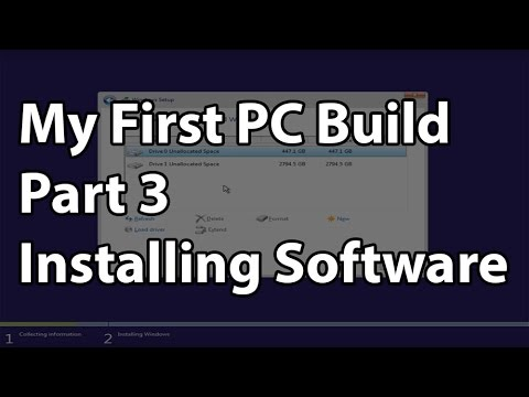 My First PC Build - Part 3 - Installing the OS and Getting to the Gaming