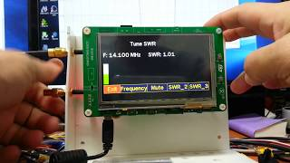 Antenna Analyzer(EU1KY) - How to Setup and Calibration
