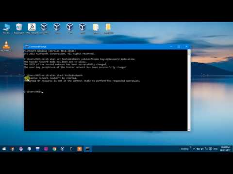 How to Create Hotspot in Windows 10 Using CMD Command Prompt  Without any Software By MKS