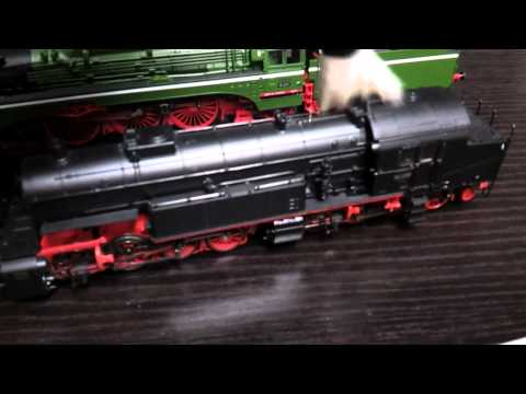 Tip how to clean model trains my way.