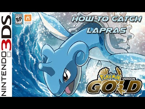 [3DS] Pokemon Gold #How to catch Lapras