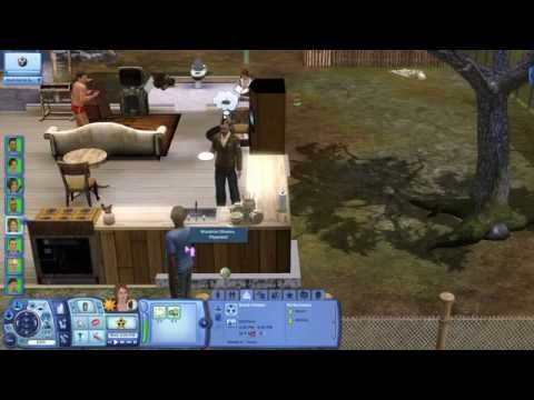 The Sims 3 - Desafio do Hospício Insano (Ep. 5) -  - Minecrafter botando fogo no pedaço!