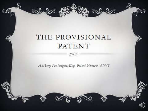 The Provisional Patent Application Process