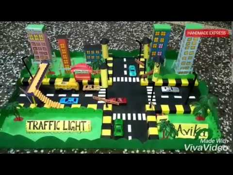 best traffic lights working model 3d school project class 2 traffic signal rules for exhibition