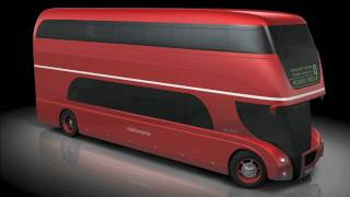 NEW ROUTEMASTER - A NEW BUS FOR LONDON - vehicle design presentation video (HD)
