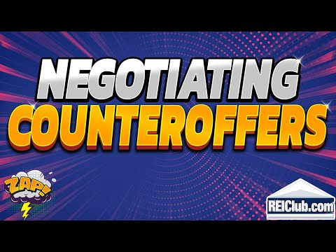 Negotiating Counteroffer - Tips to Negotiating Counteroffers For Buyers - REIClub.com