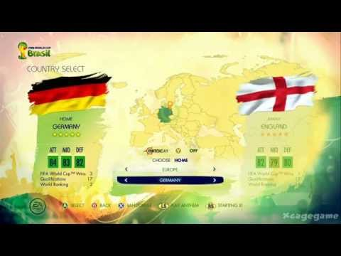 FIFA World Cup 2014 Brazil - All 206 Team Ratings