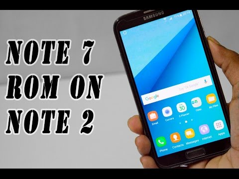 How to Install Note 7 Rom On Note 2