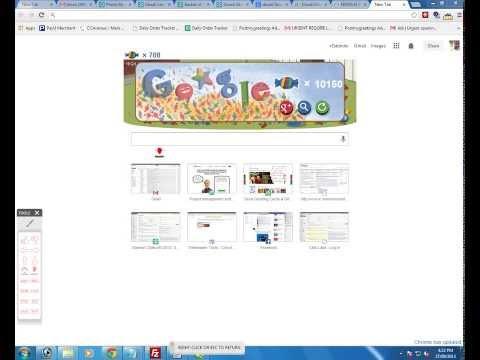 Google birthday doodle hack 2013 - Google Doodle Cheat