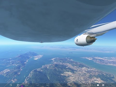 Infinite Flight GLOBAL (crusing 30,000 ft) Miami- Punta Cana