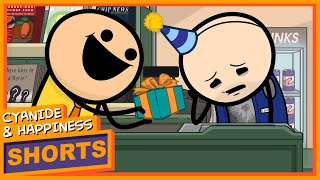 Sad Larry's Day Off - Cyanide & Happiness Shorts