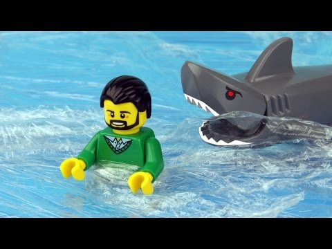 Lego Shark Attack - PlayItHub Largest Videos Hub