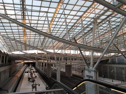 A Walk Around CDG Train Station & Airport (Gare Et Aeroport), Paris
