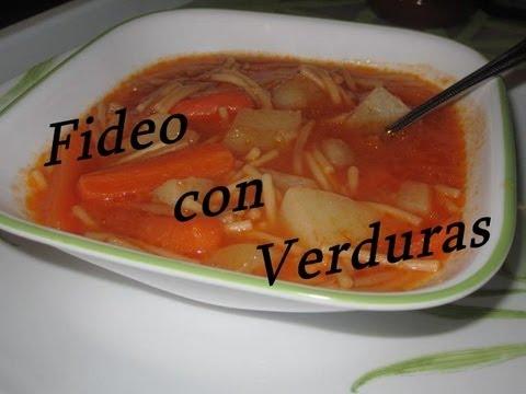 Deliciosa Sopa de Fideo & Verduras.wmv