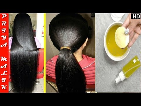 Use This Oil Once in a Week & Grow Your Hair Faster - Long, Thick, Healthy Hair | Priya Malik