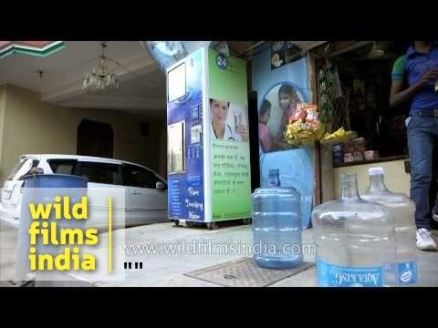 Solar panels that power water purification in the Third World