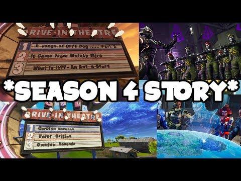 Fortnite Season 4: Storyline Got LEAKED - OMEGA SUPERVILLAIN VS SUPER HEROES -