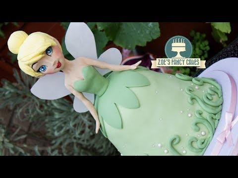 TinkerBell doll cake Disney princess
