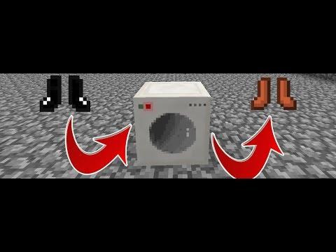 Minecraft: How to make a Working Washing Machine