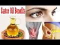 अरंडी तेल के फायदे Castor Oil Beauty Benefits for Skin, Health 100% Working
