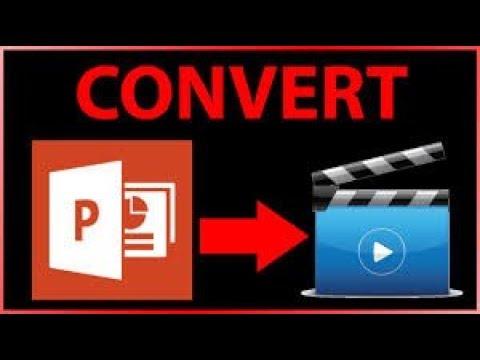 কিভাবে পাওয়ারপয়েন্ট ভিডিওতে রূপান্তর করা যায় How to make a video presentation with powerpoint