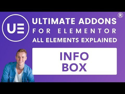 Ultimate Addons Elementor | Info Box