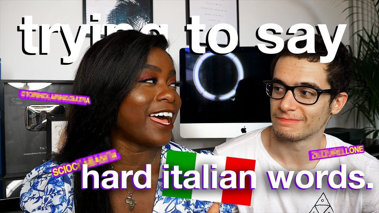 (PEOPLE FROM AROUND THE WORLD) TRY TO SAY THE HARDEST ITALIAN WORDS, WITH ITALIANS
