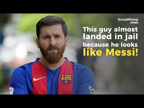 Iranian Guy almost Lands In Jail Because He Looks Like Lionel Messi!