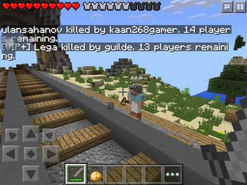 Mcpe hunger game 2 hackers
