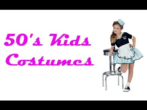 Cute 1950S Costumes for Girls