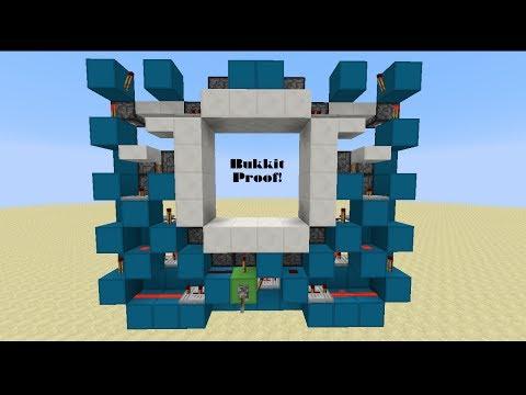 [1.7.9] Smallest Bukkit-Proof 4x4! [2x12x10] [Tutorial]