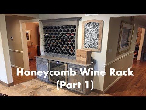 Ash Honeycomb Wine Rack (Part 1)
