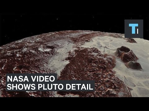 New NASA Video Shows Pluto In Exquisite Detail