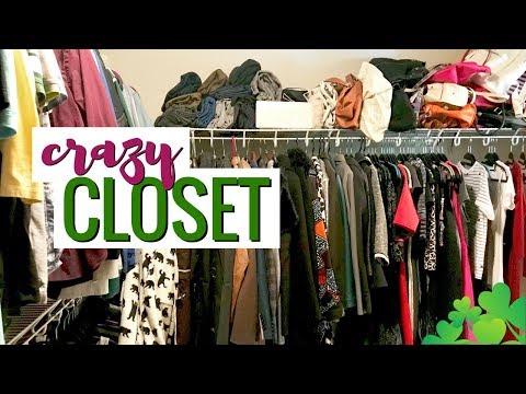 DECLUTTER WITH ME: Master Closet (Partial KonMari Method: Clothes) | Closet Organisation & Tour