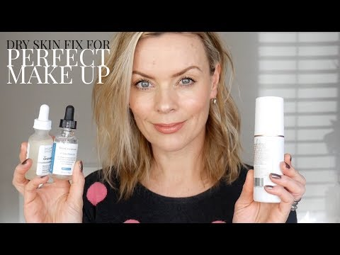 Dry skin fix for perfect make up