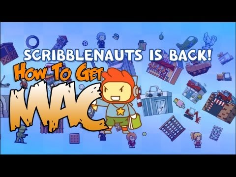 Scribblenauts Unlimited MAC FREE ( EASY )