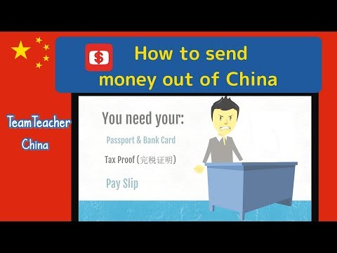How to Send Money Out Of China