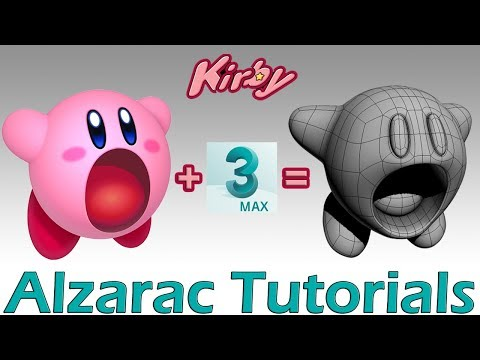 3ds max tutorial - Modelando a Kirby (Spanish Audio)