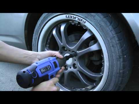 How To Remove Lug Nuts Without A Key Using Impact Wrench. Works On Most Vehicles!