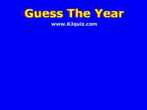 Guess The Year - iPod Game by www.kjquiz.com