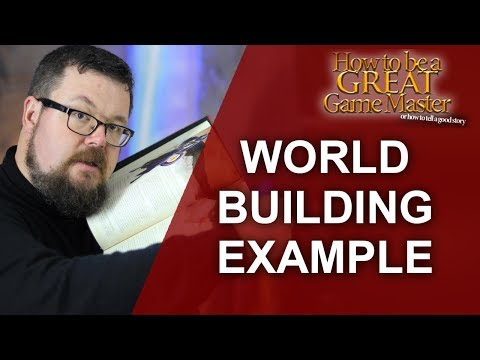 GREATGM: A new world - Worldbuilding tips for your RPG Session and my rpg setting - Game Master Tips