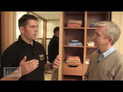 Sliding wardrobe doors - sliding doors installation video